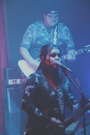Fox Eyes play the Fourth Waves Freaks zine release party this week. Photo by Richard Amery
