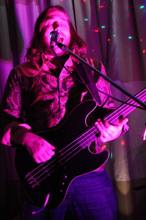 Scott Mezei of Adequate, who are playing  St. Patrick's Day. Photo by Richard Amery