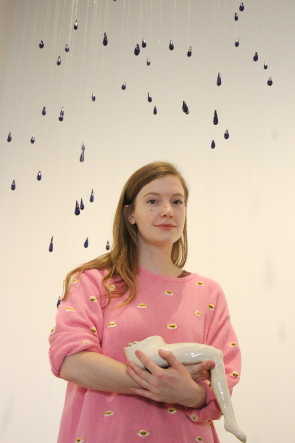 Kasia Sosnowski opens her exhibit Good Grief at Casa tonight. Photo by Richard Amery