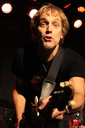 Honeymoon Suite's Derry Grehan playing Lethbridge in February. Photo by Richard Amery