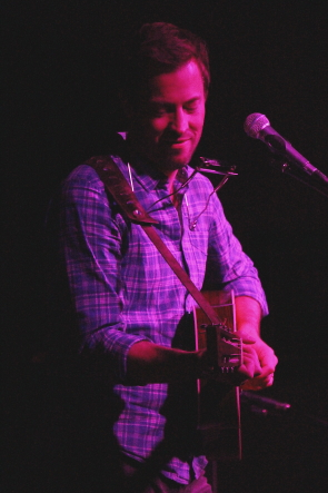 Matthew Barber opening for the White Buffalo,March 6. Photo by Richard Amery