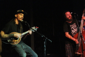 Mike Desj and Jesse Stewart playing the Slice, Aug. 9 Photo By Richard Amery