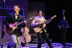 New West Theatre's Million Dollar quartet ends this week at the Yates Theatre. Photo by Richard Amery