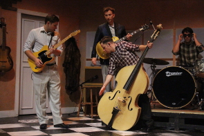 Million Dollar Quartet features a whole lot of rock and roll. Photo by Richard Amery