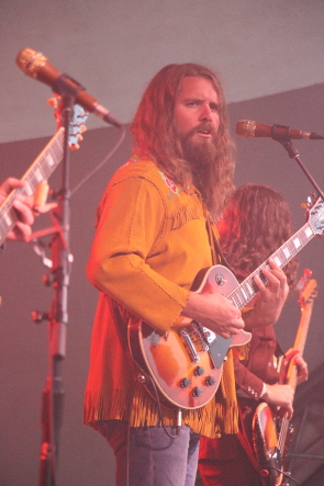 The Sheepdogs returned to lethbridge for Whoop up Days. Photo by Richard Amery