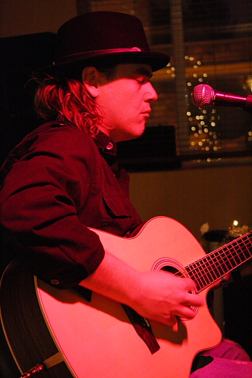 Steve Keenan's Friday night blues jams at Honker's are among the open mics returning this week. Photo by Richard Amery