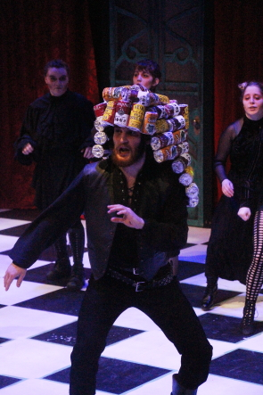 Dan Perryman is in the U of L production of Alice, Feb. 12-16 at the David Spinks Theatre. photo by Richard Amery